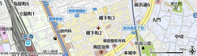 愛知県名古屋市南区柵下町の地図 住所一覧検索|地図マピオン