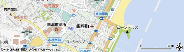 福ヤ 熱海店周辺の地図