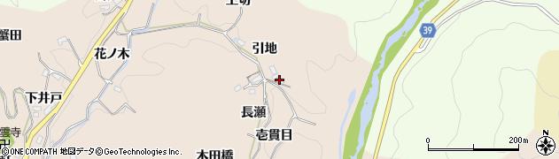 愛知県豊田市霧山町(壱貫目)周辺の地図