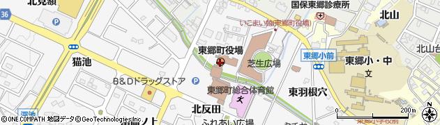 愛知県東郷町(愛知郡)周辺の地図