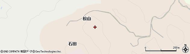 愛知県豊田市霧山町(松山)周辺の地図