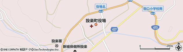 愛知県設楽町(北設楽郡)周辺の地図