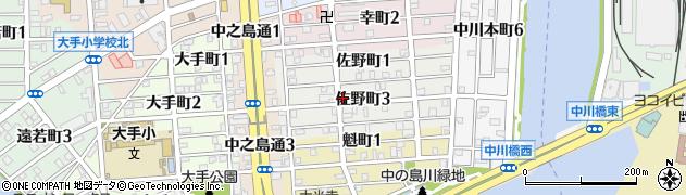 姉妹周辺の地図