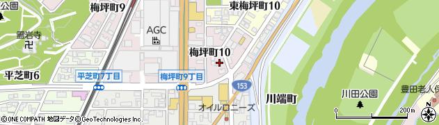 やまと周辺の地図
