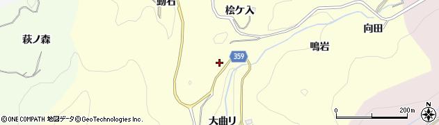 愛知県豊田市国谷町(大曲リ)周辺の地図