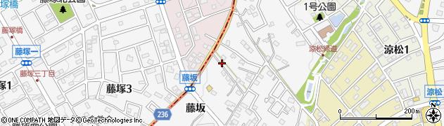 愛知県愛知郡東郷町春木藤坂周辺の地図