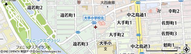 モア周辺の地図