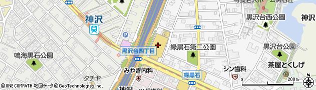 米乃家 鳴海店周辺の地図