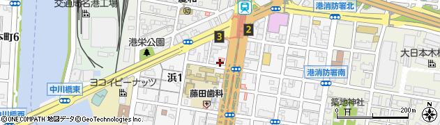 きくや周辺の地図