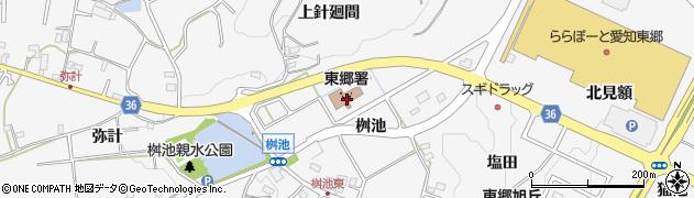 愛知県愛知郡東郷町春木桝池周辺の地図