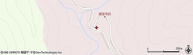 愛知県北設楽郡東栄町東薗目向平周辺の地図