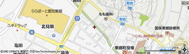 愛知県愛知郡東郷町春木伊勢木周辺の地図