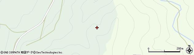 愛知県北設楽郡東栄町下田尾山周辺の地図