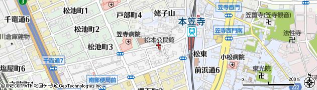 愛知県名古屋市南区松城町周辺の地図