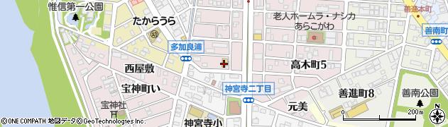 SAKURA周辺の地図