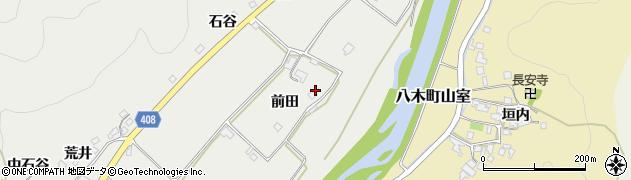 京都府南丹市八木町美里(前田)周辺の地図