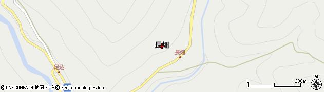 愛知県北設楽郡東栄町足込長畑周辺の地図