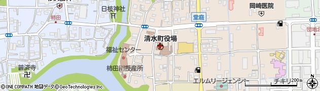 静岡県駿東郡清水町周辺の地図