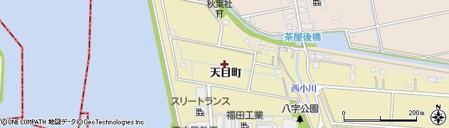 愛知県名古屋市港区天目町周辺の地図