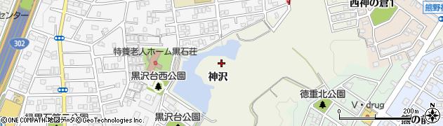 愛知県名古屋市緑区鳴海町(神沢)周辺の地図