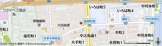 ビリーヴ周辺の地図