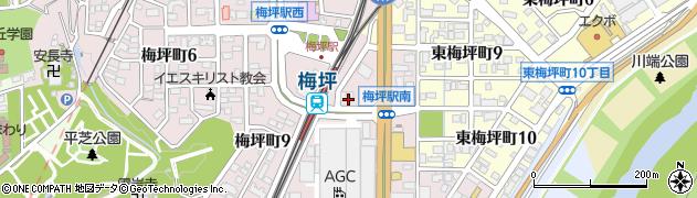 スキャンダル周辺の地図