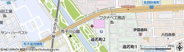 ラーメン番長銀次郎 港店周辺の地図