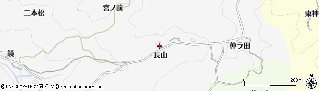 愛知県豊田市下国谷町(長山)周辺の地図