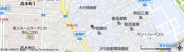 株式会社玉清 タマセイ港周辺の地図