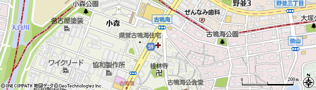 愛知県名古屋市緑区鳴海町(古鳴海)周辺の地図
