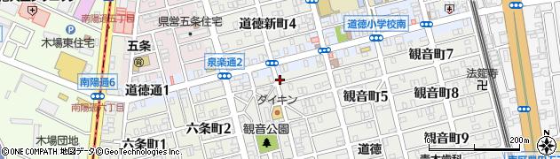 ひろみ寿司周辺の地図