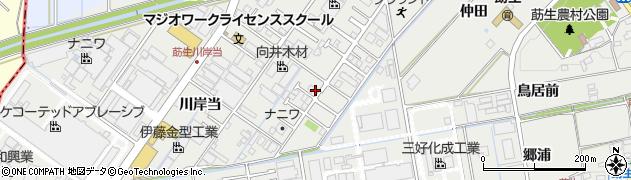 愛知県みよし市莇生町(水洗)周辺の地図