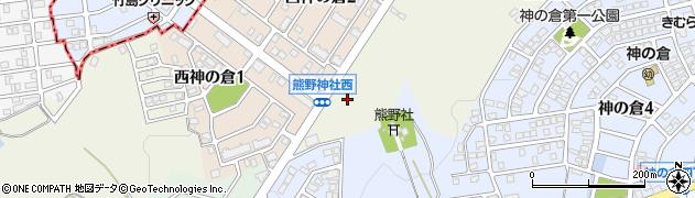 愛知県名古屋市緑区鳴海町(神ノ倉)周辺の地図