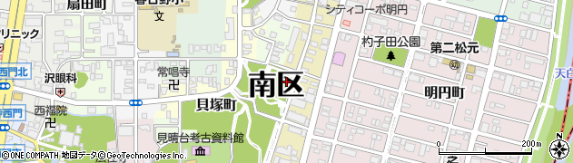 愛知県名古屋市南区弥生町周辺の地図