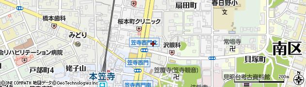 愛知県名古屋市南区桜本町周辺の地図