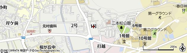 京都府南丹市園部町栄町(1号)周辺の地図