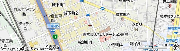遠藤商店周辺の地図