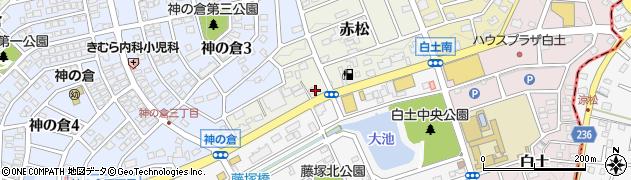りきゅう母屋周辺の地図