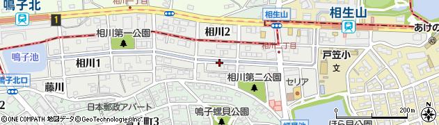 愛知県名古屋市緑区相川周辺の地図
