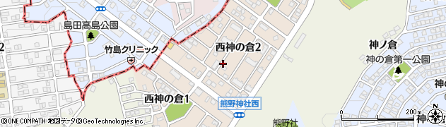 愛知県名古屋市緑区西神の倉周辺の地図