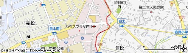 神の倉ホルモン周辺の地図