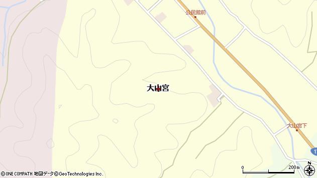 〒669-2802 兵庫県丹波篠山市大山宮の地図
