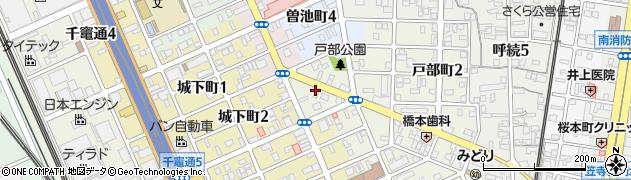 つばさや大磯店周辺の地図