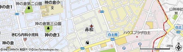 愛知県名古屋市緑区赤松周辺の地図
