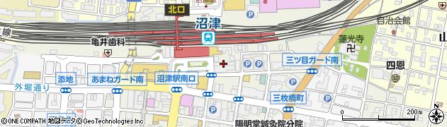 桜坂 沼津駅前店周辺の地図