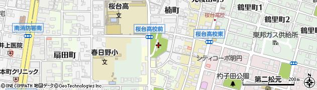 愛知県名古屋市南区呼続町(八幡西)周辺の地図