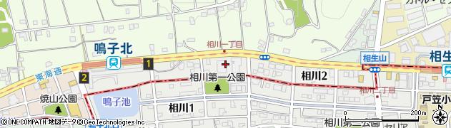 愛知県名古屋市天白区相川周辺の地図
