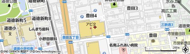 日本一アピタ名古屋南店周辺の地図