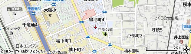 ゆきcafe周辺の地図
