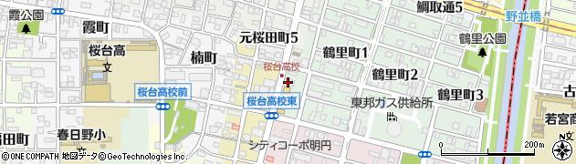 ドミノ・ピザ鶴里店周辺の地図